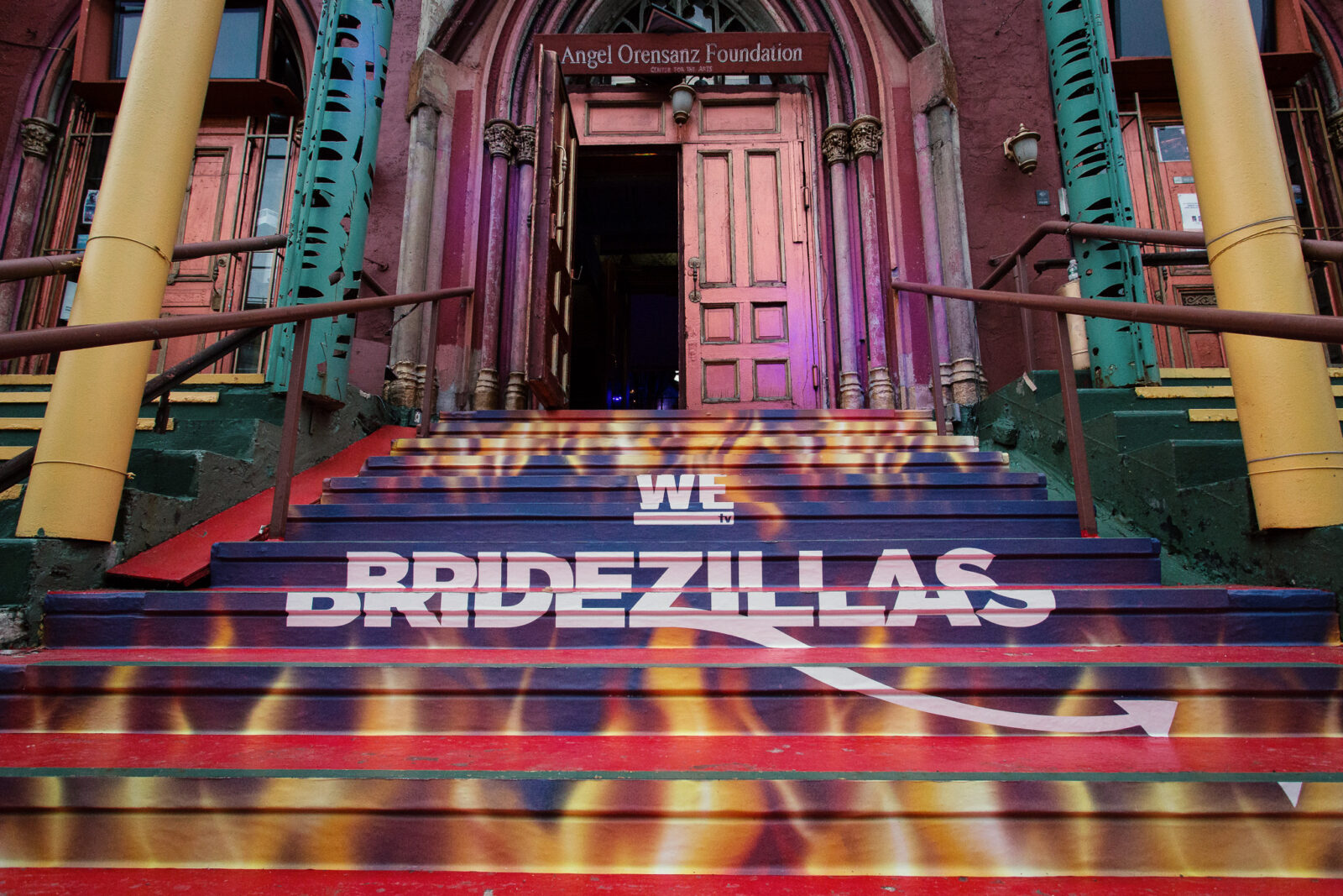front of bridezillas fashion show event marketing agency new york