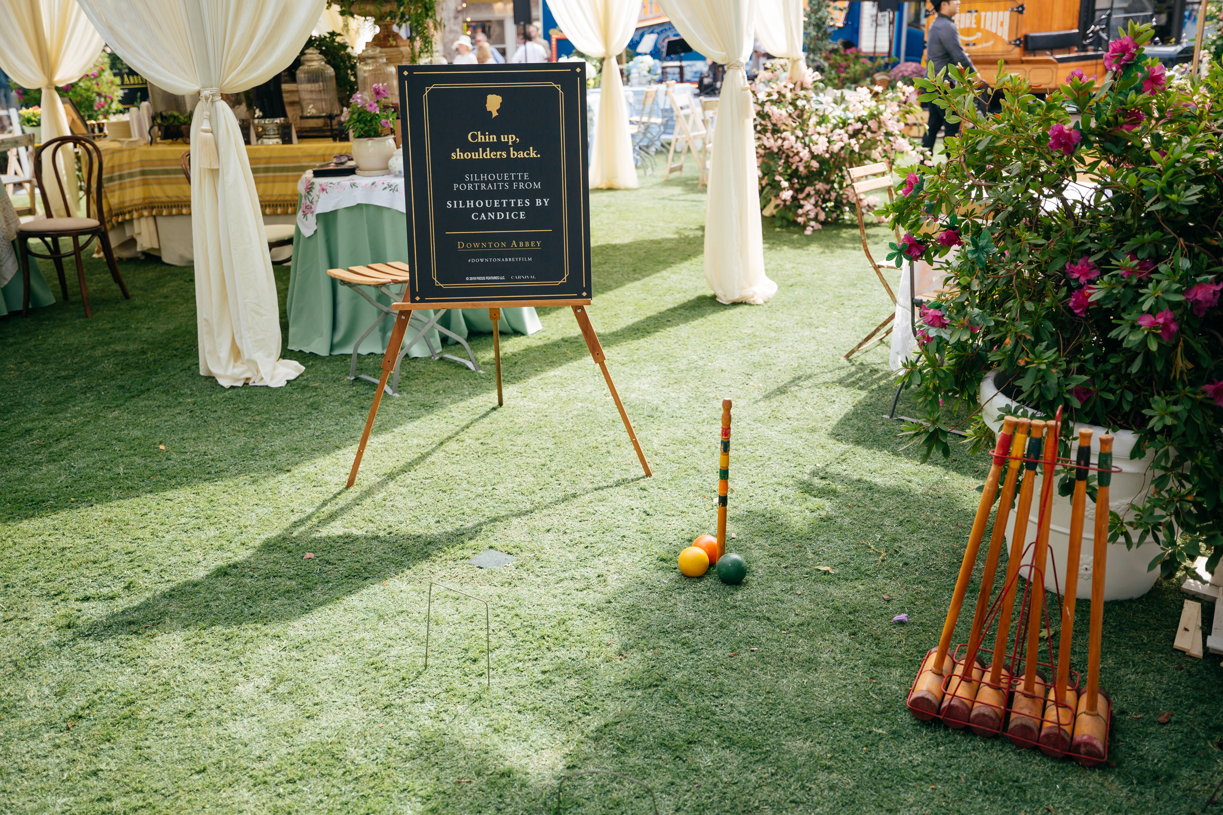 croquet game by event production company allied experiential