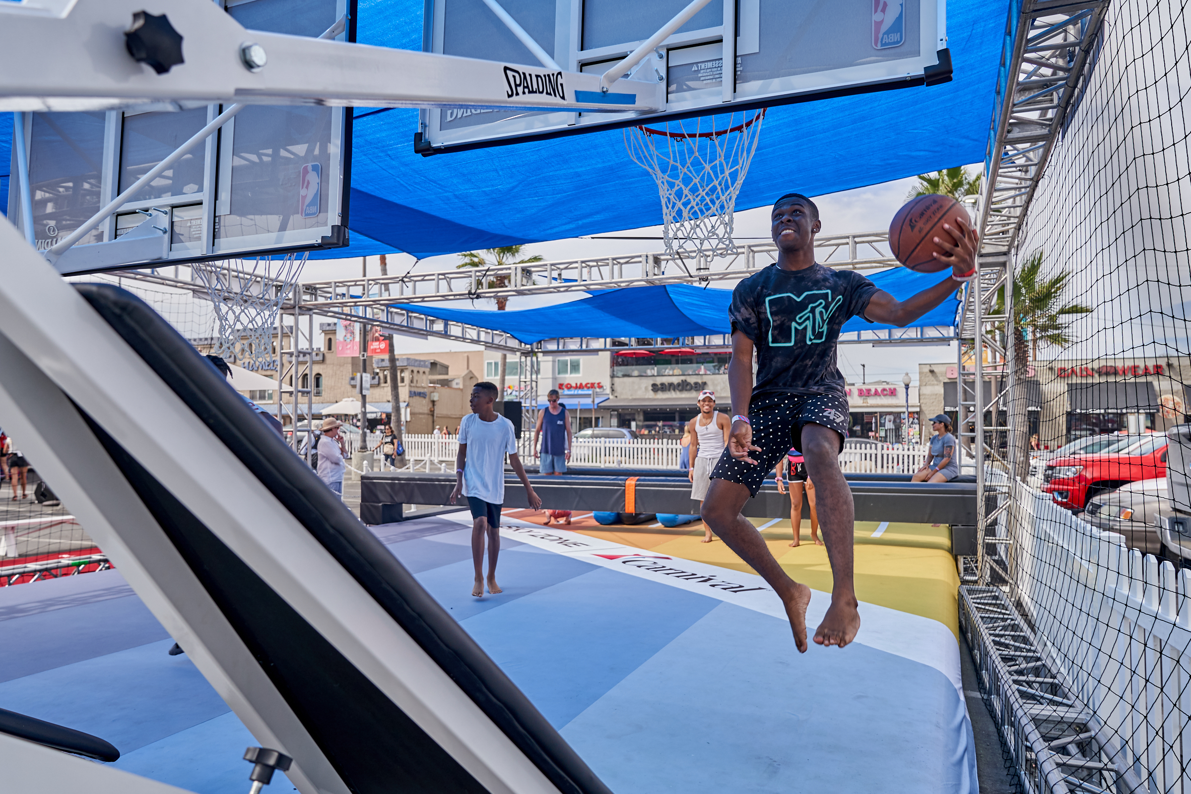 basketball activation by event planners