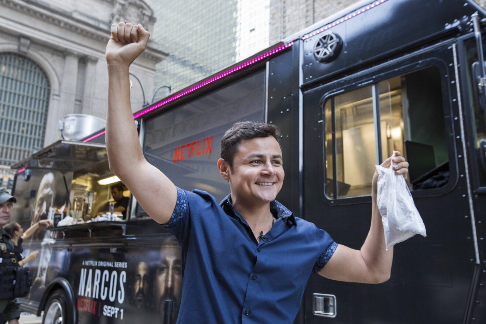 marketing agency creates food truck for narcos